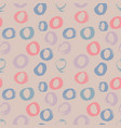 seamless polka pattern pastel circle vector image