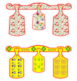 Set of Chopping boards vector image vector image