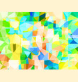abstract glass strongly colorful background vector image