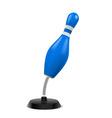 Bowling souvenir vector image vector image