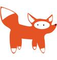 Cute Fox vector image