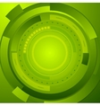 Green tech corporate abstract background vector image vector image