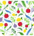 happy sukkot holiday seamless patern jewish vector image vector image