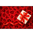 Holiday banners with gift bows and ribbons vector image vector image