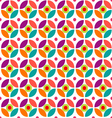 Retro circle pattern vector image vector image