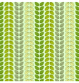 Seamless pattern with leaves in pastel colors vector image vector image