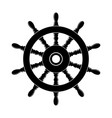 steering wheel a ship vector image vector image