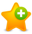 add to favorites icon vector image vector image