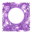 Fairy hand drawn doodle style pink mistery vector image
