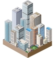 High-rise home vector image