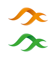 Infinity logo templates vector image vector image