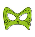 mask superhero icon image vector image vector image