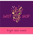 Pastry Shop Bright taste sweets vector image vector image