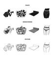 personal trainer fruit salad mat female waist vector image vector image