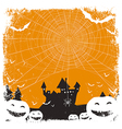 halloween isolated background vector image