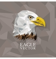 Animal design Polygon concept Shape and Origami vector image vector image