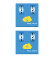 Cloud download and upload 28 vector image vector image