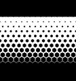 seamless halftone background11 figures in vector image vector image