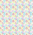Simples pattern of colored circles vector image vector image
