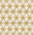 traditional arabesque seamless pattern repeatable vector image