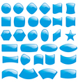 bubble icons symbols vector image vector image