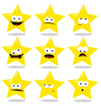 Funny Star vector image vector image