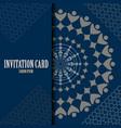 invitation card image vector image vector image