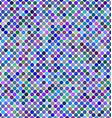 Multicolored abstract dot background design vector image vector image