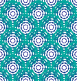 Seamless dot pattern vector image