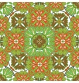 Seamless pattern from colorful Moroccan tiles vector image
