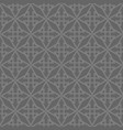 tile pattern with black print on grey background vector image vector image