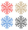 85 off discount sticker snowflake 85 off sale vector image vector image