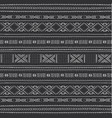 african seamless pattern with geometric figures vector image