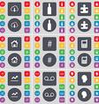 Cloud Bottle Puzzle part House Hashtag Mobile vector image vector image