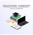 concept education 23 vector image