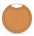 cutting board 08 vector image