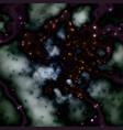 dark hazy sky stars vector image vector image