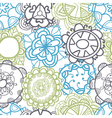 Ethnic seamless pattern Stylish floral ornament vector image vector image
