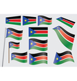 flag of South Sudan vector image vector image