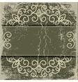 old paper pattern vintage background vector image vector image