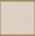seamless islamic patterns in beige traditional vector image vector image