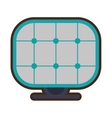 solar panel energy alternative vector image