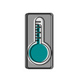 analog thermometer icon image vector image vector image