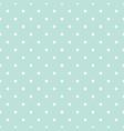 blue and white polka dot baby seamless vector image vector image