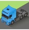 Delivery Cargo isometric Truck vector image