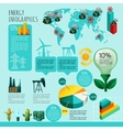 Energy Infographics Set vector image vector image