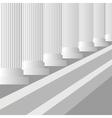 Grey Columns vector image vector image