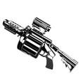 launcher grenade vector image