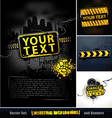set industrial backgrounds and banners vector image vector image