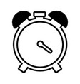 alarm clock time vector image